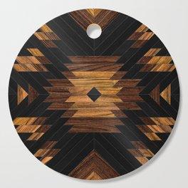 Urban Tribal Pattern 7 - Aztec - Wood Cutting Board