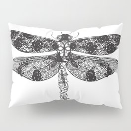Lace dragonfly Pillow Sham