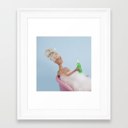 Happy Birthday to ME Framed Art Print