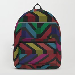 Geometric pattern 1 Backpack
