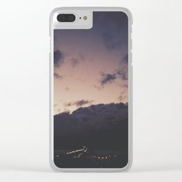 Scattering the Night Clear iPhone Case