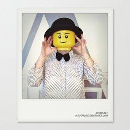 Minifig me ! – Everyone has a LEGO piece inside - 12 Canvas Print