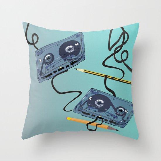 Rewind :) Throw Pillow