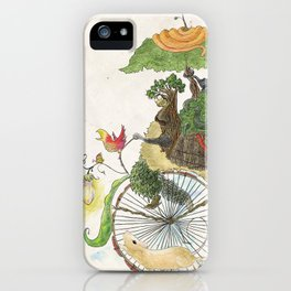 The Life Cycle iPhone Case