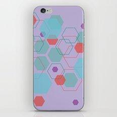Hexagon Little Mermaid iPhone Skin
