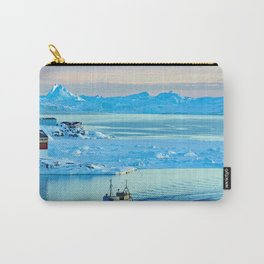 Icebergs in Disko Bay Carry-All Pouch