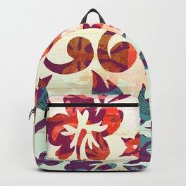 Hawaiian Flowers 02 Backpack