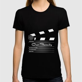 Our Family Clapperboard T-shirt