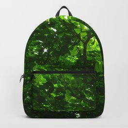 Deep Green Forest Backpack