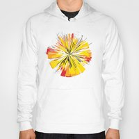 fireworks Hoodies featuring Fireworks by Sobhani