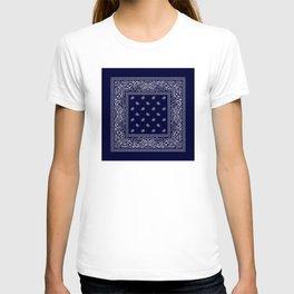 Bandana - Navy Blue - Southwestern T-shirt