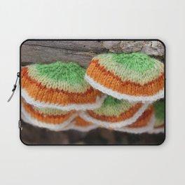 Knitted False Turkey Tail  Laptop Sleeve