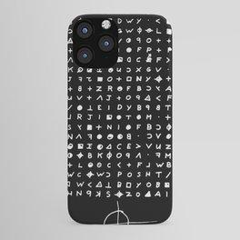 Zodiac killer iPhone Case