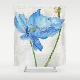 Blue North Shower Curtain