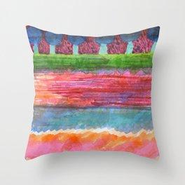 Beautiful Avenue Throw Pillow