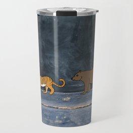 Lions and tigers and bears! Travel Mug