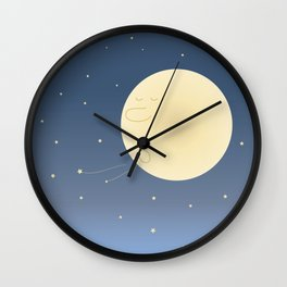 MOON Wall Clock