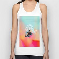 telephone Tank Tops featuring telephone by evenstarss