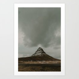 Iceland Kirkjufell Mountain Art Print