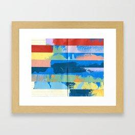 Tape Diary 12 Framed Art Print