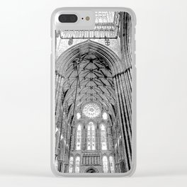 York Minster Art Sketch Clear iPhone Case