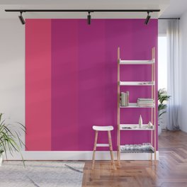 Colored TV Wall Mural