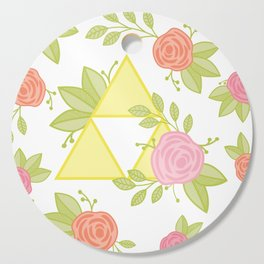 Garden of Power, Wisdom, and Courage Pattern Cutting Board