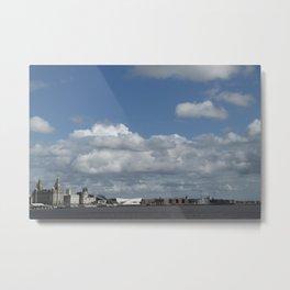 Liverpool skyline. Metal Print