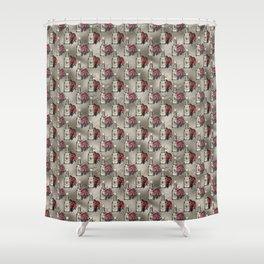 Poison Love Shower Curtain