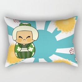 Kokeshi Hisui Rectangular Pillow