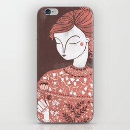 The Botanist iPhone Skin