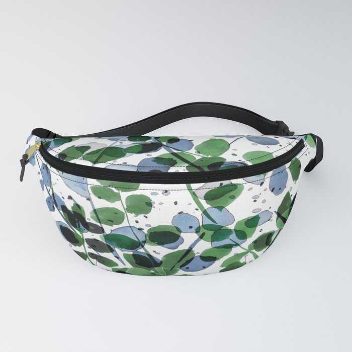 Synergy Blue and Green Fanny Pack