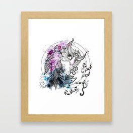 Owl watch over you Framed Art Print