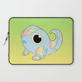 Pastel Rainbow Tadpole Monster Laptop Sleeve