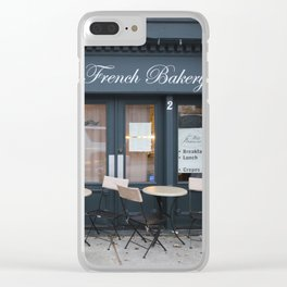 French Bakery 1 Clear iPhone Case