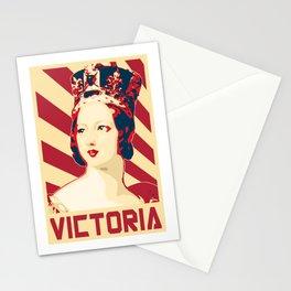 Victoria Queen Of England Retro Propaganda Stationery Cards
