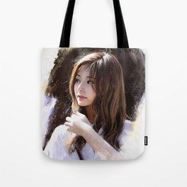 Portrait of Tzuyu Tote Bag
