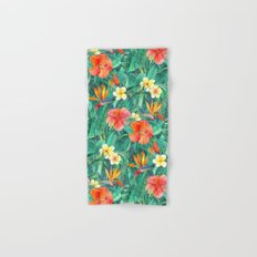 Classic Tropical Garden Hand & Bath Towel