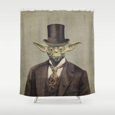 Sir Yodington  Shower Curtain