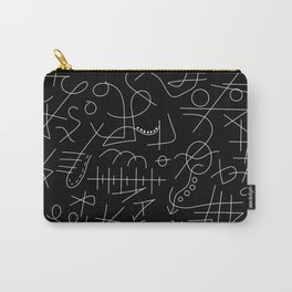 Blacky Whity Carry-All Pouch