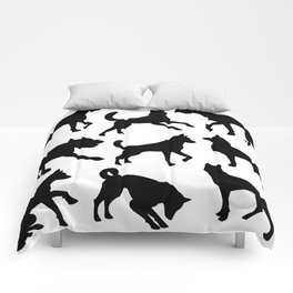 Animal Collage 6 Comforters