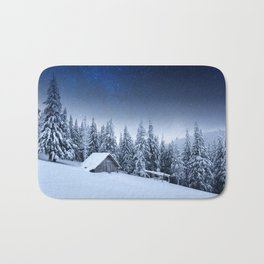 Winter Silence Bath Mat
