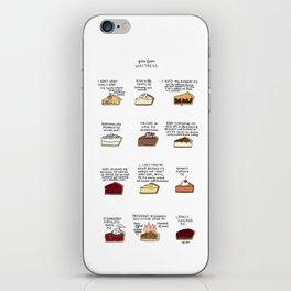 Waitress Pies iPhone Skin