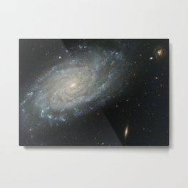 Spiral Galaxy, NGC 3370 Metal Print