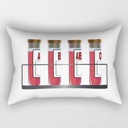 Blood Group Samples Rectangular Pillow