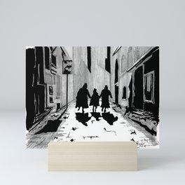 Oliver's Fate Mini Art Print