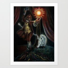 Theatre of Concsiousness Art Print