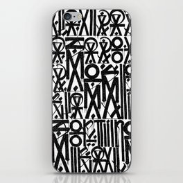 TYPO--ART iPhone Skin