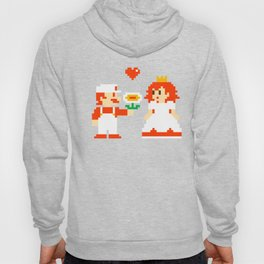 Mario & Peach valentine Hoody