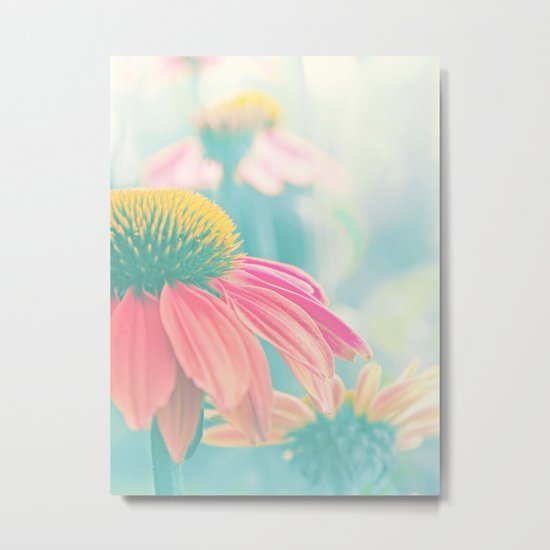 THE HEART OF SUMMER Metal Print